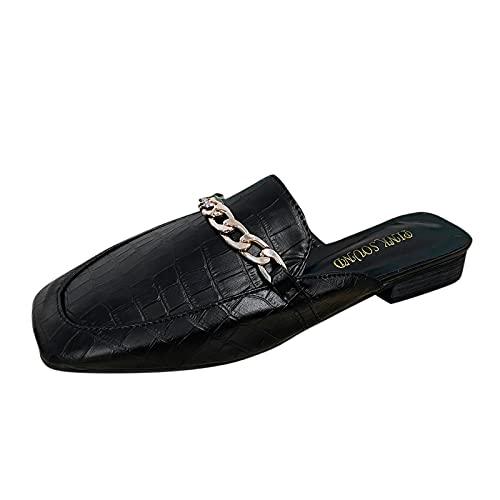 YWLINK Mocasines De Cuero para Mujer Moda Casual Zapatos del Barco Linda...