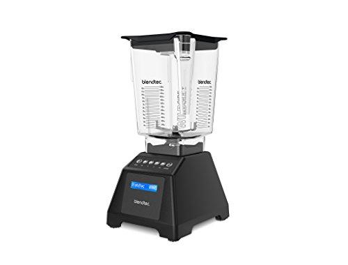 Blendtec 560 Blender- WildSide+ Jar (90 oz) - Professional-Grade Power - Self-Cleaning - 6 Pre-programmed Cycles - 8-Speeds - Sleek and Slim - Black