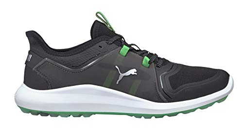Puma Golf- Ignite FASTEN8 X Spikeless Shoes Puma Black/Irish Green Size 11.5 Medium