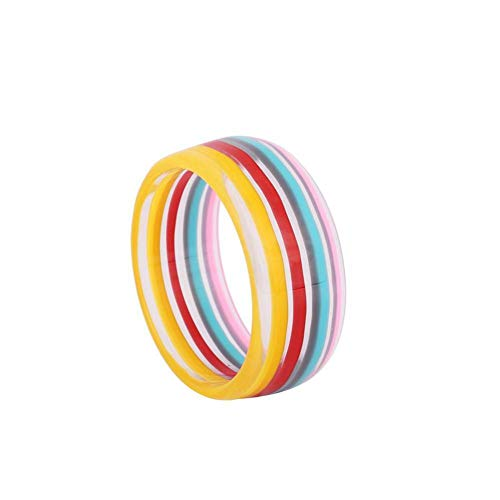 HMKLN Süße Mode Bunte runde Harz armreif brasilien indischen Stil Multicolor mädchen armreifen 5 Farben