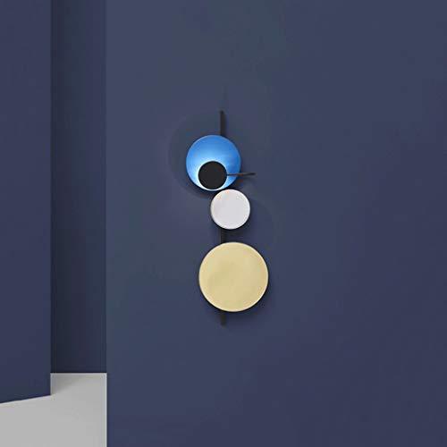 YUSHIJIA Aplique De Pared De Estilo Industrial Dormitorio Lámpara de Pared de cabecera Simple Creativo Aseo Pasillo Sala de Estar Lámpara de Pared Decorativa Lámpara De Pared Retro (Color : D)