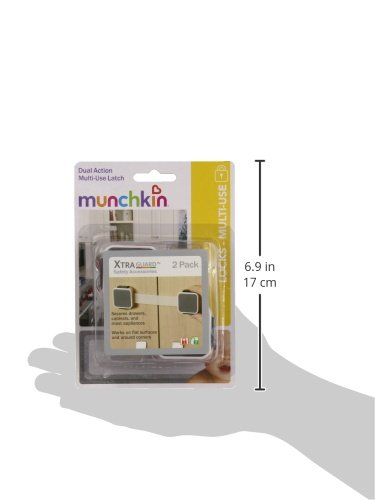 Munchkin Xtraguard Dual Action Multi Use Latches, 2 Count