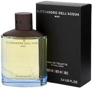 Alessandro Dell Acqua By Alessandro Dell Acqua For Men. Eau De Toilette Spray 3.4 Ounces