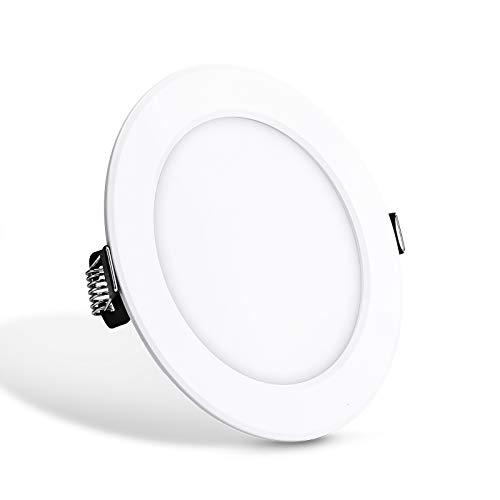 ONEVER - Panel de luz LED redondo RGB con mando a distancia AC85 – 265 V