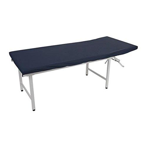 Sport-Tec Ölresistenter Liegenbezug mit PU-Beschichtung für Therapieliegen, 200x65 cm Blau