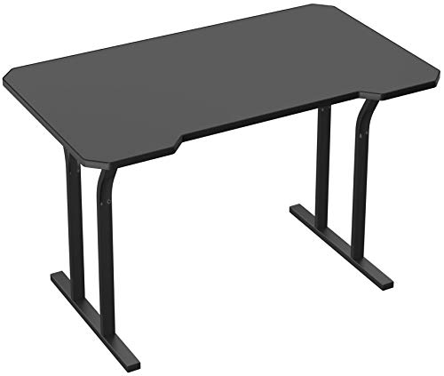 Turismo Racing Gaming Desk - Decagon Gaming Desk with Integrated Mouse Pad - Black …