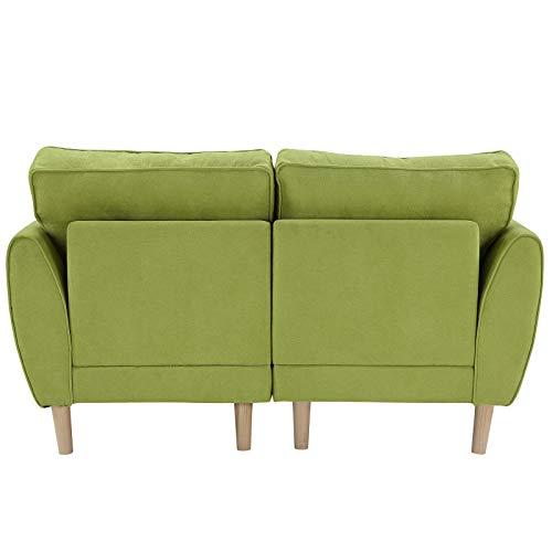 Y apartamento pequeño, la habitación del adolescente, para la habitación, 2/3 plazas de sofá sofá fácil sofá sofá transpirable tela de ropa sofá sofá sofá sobreviviente muebles de la habitación con do