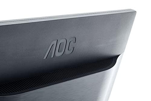 AOC E2460SH 60,96 cm (24 Zoll) Monitor (VGA, DVI, HDMI, 1ms Reaktionszeit, 60 Hz, 1920 x 1080 Pixel) schwarz - 2