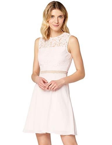 Amazon-Marke: TRUTH & FABLE Damen kleider Jcm-42470, Pink (Blush), 32, Label:XXS