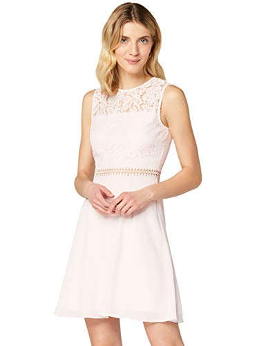Amazon-Marke: TRUTH & FABLE Damen kleider Jcm-42470, Pink (Blush), 44, Label:XXL