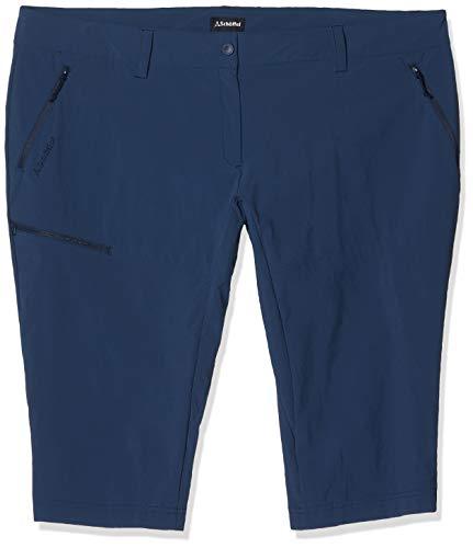 Schöffel Damen Pants Caracas2 leichte und kühlende Wanderhose aus elastischem Stoff, vielseitige Outdoor Hose mit optimaler Passform und praktischen Taschen, Blau (dress blues), 40