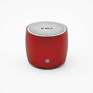 ROUND RED PORTABLE BLUETOOTH SPEAKER EWA-103