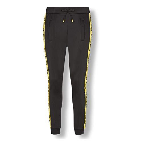 Red Bull BC One Trackpants, Schwarz Herren Large Hosen, BCOne Freestyle Dance B-Boy Original Bekleidung & Merchandise