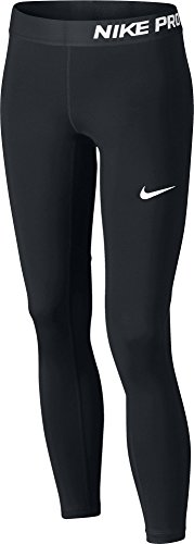 Nike Mädchen Tights G NP, Black/White, M