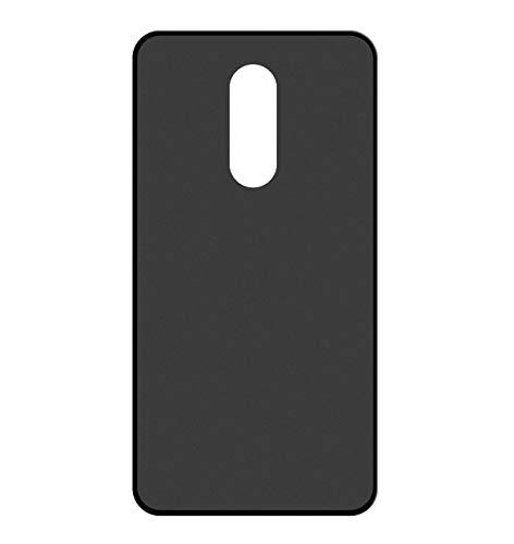 Sunrive Für TP-LINK Neffos X1 Lite Hülle Silikon, Handyhülle matt Schutzhülle Etui 3D Hülle Backcover für TP-LINK Neffos X1 Lite(W1 schwarz) MEHRWEG+Gratis Universal Eingabestift