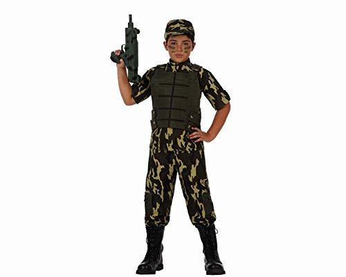ATOSA disfraz militar niño infantil camuflaje 7 a 9 años