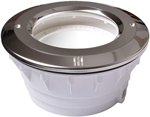 Aftertech Lampfitting PAR56 Koplamp Par 56 voor zwembad spa, pool projector (voor liner/PVC, voorzijde roestvrij staal…