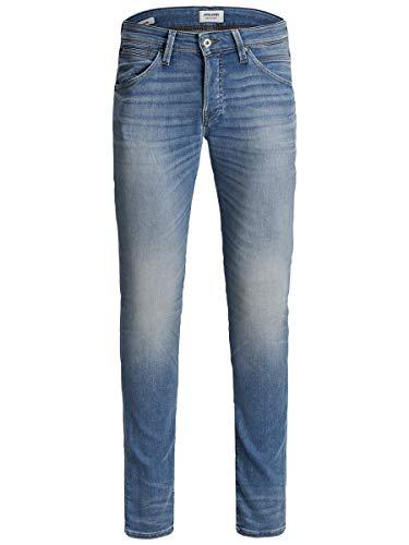 JACK & JONES Jjiglenn JJFOX JJ 241 I.K Jeans, Blu Denim, 32W x 34L Uomo