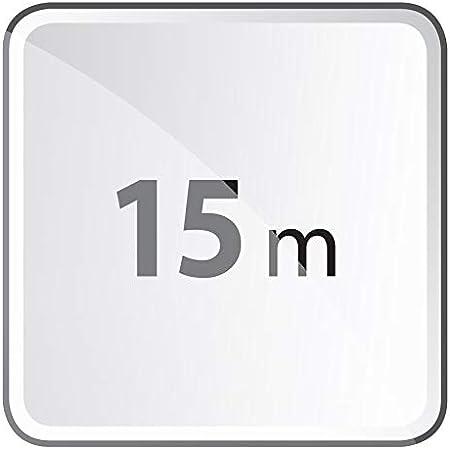Gummi-Verl/ängerungskabel f/ür den Au/ßenbereich EMOS Verl/ängerungskabel mit 2 Schuko Steckdosen H07RN-F3G 1,5 mm2 5 Meter Doppel-Verl/ängerung 2 Schutzkontakt Buchsen /& P01805 5 m Schuko 10 m