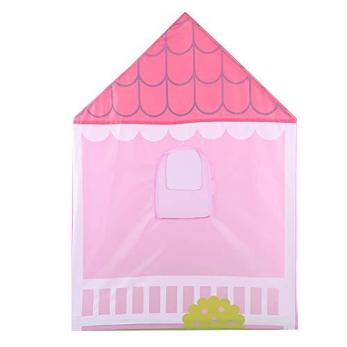 House Kid Play Tent, House Garden Play, 190T Poliéster Ecológico PVC Manguera Kid Interior Outdoor Play Carpa Salida Camping Jardín Niños Juego Toy House