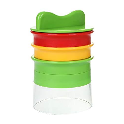 Espiralizador de verduras de mano, cortador de verduras 4 en 1, cortador de verduras en espiral, cortador de verduras, pelador de verduras, herramientas de cocina