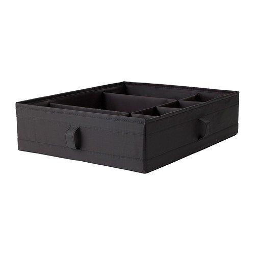 IKEA SKUBB Kasten mit Fächern in schwarz