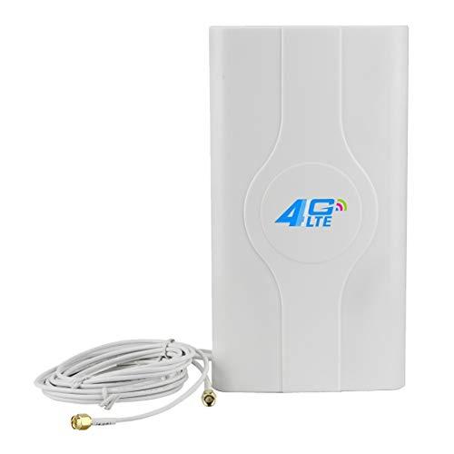 Sevenplusone Licht en mooi, gemakkelijk te dragen. LF-ANT4G01 Indoor 88dBi 4G LTE MIMO Antenne met 2 PCS 2 m Connector Wire, SMA poort, Gemakkelijk te installeren