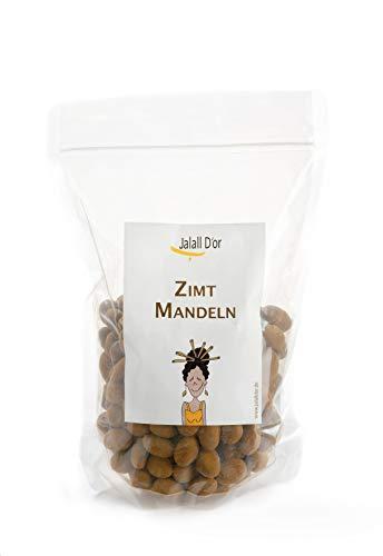 Jalall D'or Zimtmandeln – Schokomandeln mit Vollmilchschokolade umhüllt – mit Zimt-Überzug – 1 × 1000 g – 1 Tüte à 1000g