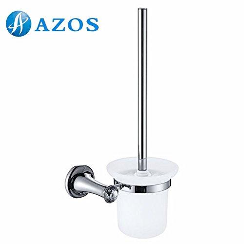 AZOS 壁付 トイレブラシ・ホルダー 浴室用設備 シルバーの色 GJKE3106L