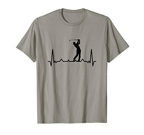 Golf Golfen Herzchlag T-Shirt