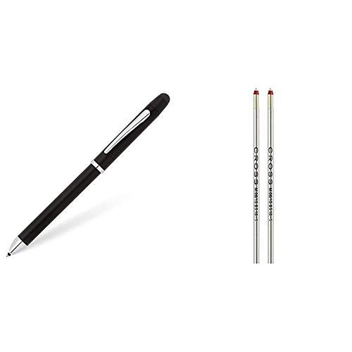 Cross Tech3+ - Bolígrafo multi-funcional, color negro + 8518-5 - Recambio para...
