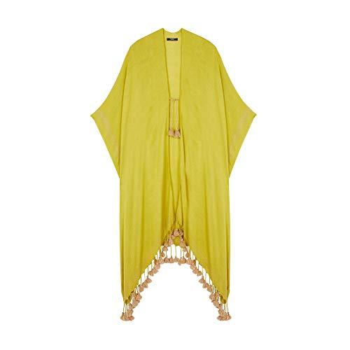 Parfois - Kimono Stones Total Look - Mujeres - Tallas Única - Lime