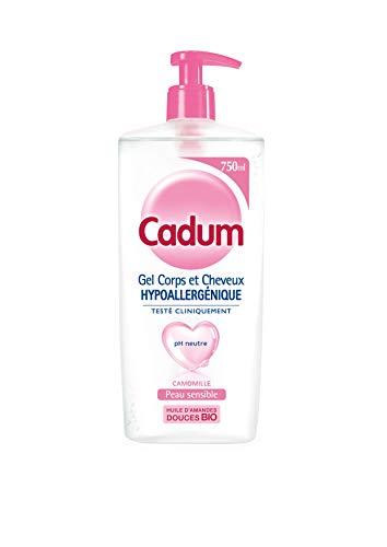Cadum Hypoallergénique Gel pour Corps/Cheveux Camomille 750ml