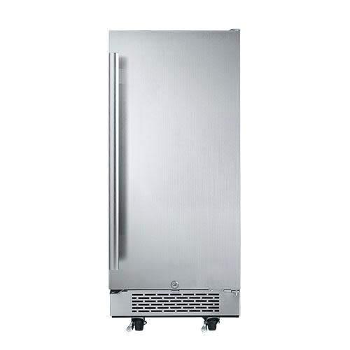 """Avallon AFR151SSODRH 3.3 Cu Ft 15"""" Outdoor Built-In Refrigerator - Right Hinge"""