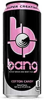 VPX Bang Rtd, Cotton Candy, 16 Fl. Oz (12 Count)