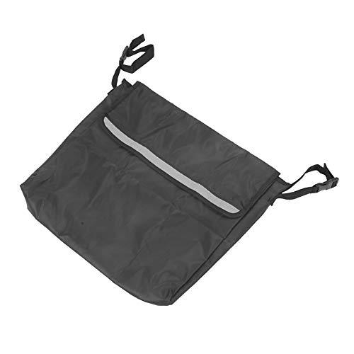 Tomanbery Bolsa de Almacenamiento para Silla de Ruedas Mochila portátil para Silla de Ruedas Ligera para Gran Capacidad para Actividades al Aire Libre(Black)