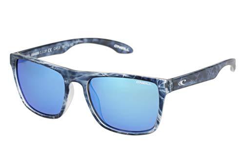 O'Neill Unisex-Adult CHAGOS Sunglasses, Matte Blue Water, 55 mm