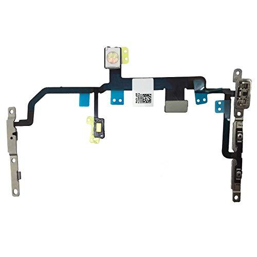 OnlyTech - Cable Flex Botones Power On Off, Volumen, Mute Vibrador, Flash y Micrófono Compatible con iPhone 8 Plus