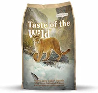 Taste of the Wild Canyon River Dry Cat Food. 5 Pound Bag (Trout & Smoked Salmon) Grain Free Cat Food!