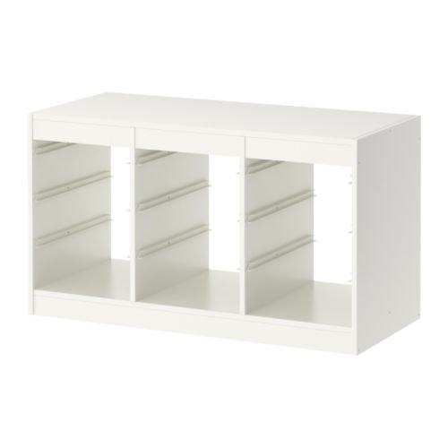 IKEA Linnmon Desk Table Top 47 Inch (Includes Feltectors (White Stained Oak Effect)