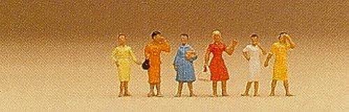 garantía de crédito mujer in Dresses Standing (6) (6) (6) N Preiser Models by Preiser  marca en liquidación de venta