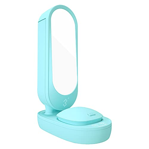 QERNTPEY Contact Lens Cleaner Mirror Cleaner Frame Glasses Contact Lens Jewelry Cleaning Machine Occupies Less Space (Color : Blue, Size : 23.5x15.5x9cm)