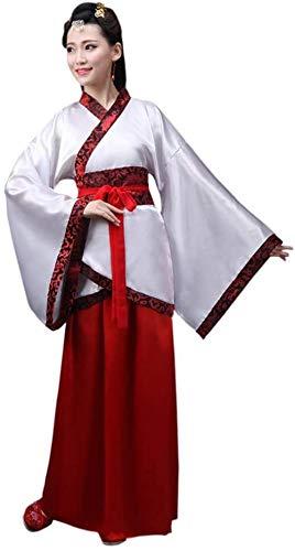 OKZH Hanfu Chino Mujer Antiguo Chino Hanfu Weijin Hanfu Traje De Actuacin Retro Disfraz Juego Cosplay A 1 Xxl