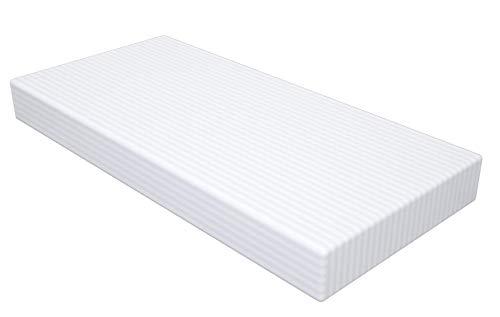 CLOEN Colchón Espumación | Reversible | Altura 10cm | Densidad 25kg | Funda Transpirable | Firmeza Media Baja | Funda Lavable con Cremallera | Modelo Foam 10 (90 x 190 cm)