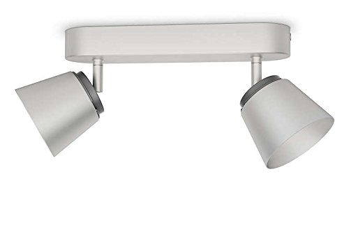 Philips 533421716 Dender Luminaire d'Intérieur Spot LED Métal Chrome 4 W