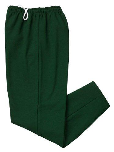Gildan Activewear 50/50 Open-Bottom Sweatpants, 2XL, Forest Green
