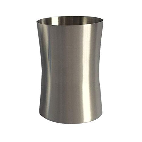 Cuisine multifonction Gobelet en acier inoxydable électropoli poli à un mur, à la taille de 300 ml (Argent) Léger et durable, facile à laver et à nettoyer (Couleur : Silver)