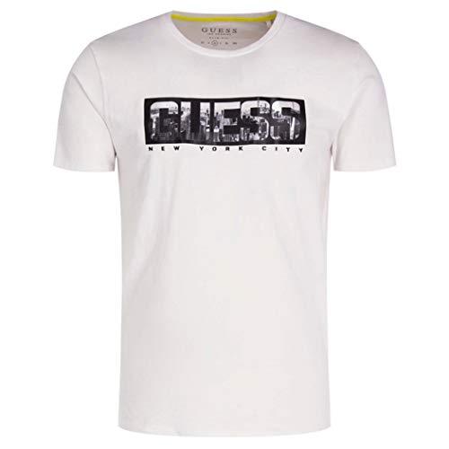 Guess M01I53K9H10 - Camiseta de algodón para hombre, diseño de Jersey Stretch