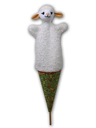 ABA 52 cm 3 en 1 Marionnette Pop-up Mouton (Multicolore)