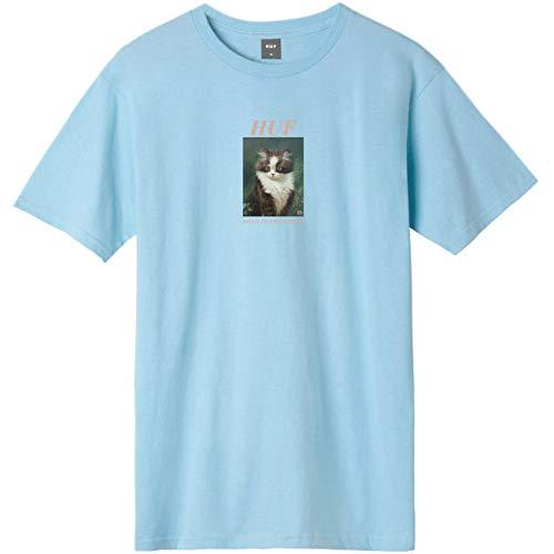 HUF Lost T-shirt Greek Blue S bleu
